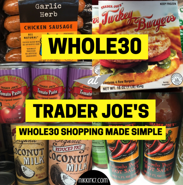 Whole30 Shopping List For Single Women